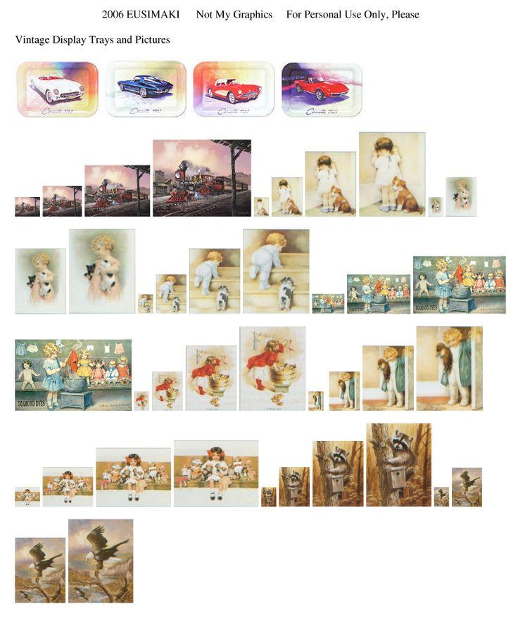 586 Best A 1/12 Scale Miniature Printables Vintage Images