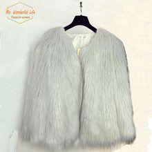 2015 celebrity struisvogelveren bont jas faux karakul schapen vacht lange jas jas vrouw haar harige casaco de iverno chaqueta(China (Mainland))