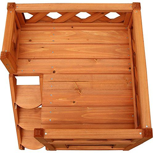 Confidence Pet Wooden Dog House / Kennel with Balcony | Dog Supplies - Warning: Save up to 87% on Dog Supplies and Dog Accessories at Our Online Pet Supply Shop