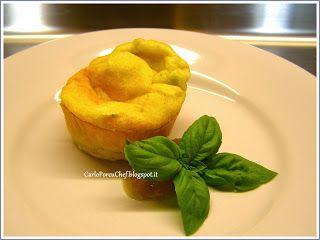 Ricetta: FONDENTE AL GORGONZOLA melting gorgonzola #recipe #italiancuisine #tuscany #soufflè