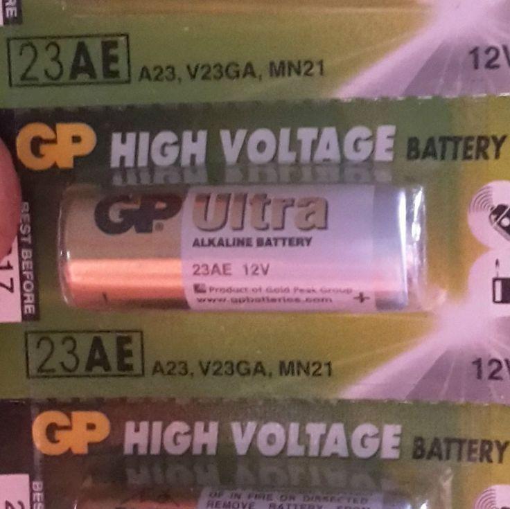 Batteria 23AE A23, V23GA, MN21 12v