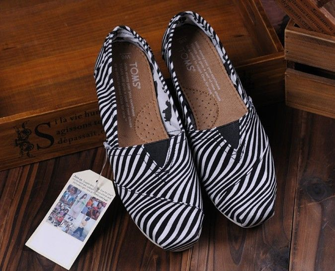 Toms Shoes White Zebra Printing Womens Classics : Toms Shoes Outlet, TOMS outlet store online,big promotion,100% quality guarantee,TOMS Outlet sale with 70% discount!