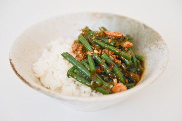 Sichuan Style Greens With Minced Pork - Bureau of Taste
