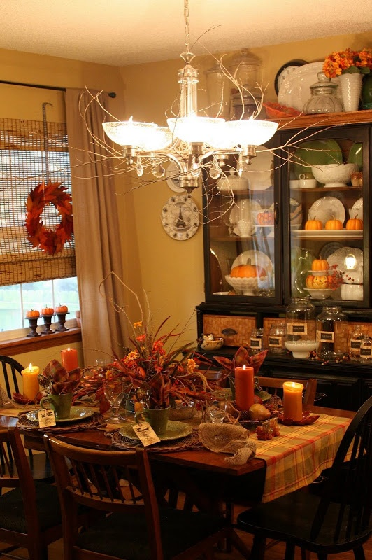 sweet something designs  twiggy tablescape