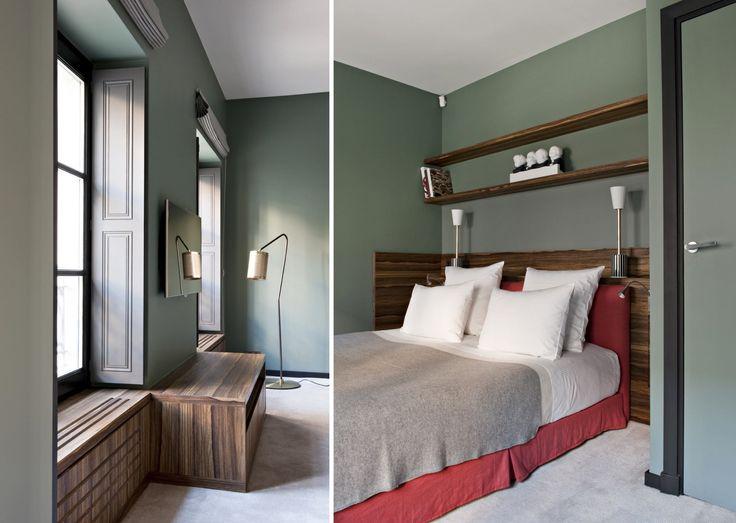 Les 25 meilleures id es concernant salles de bains verts olives sur pinterest d cor vert olive for Peinture piece a vivre