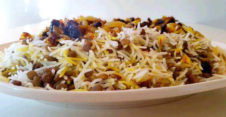 Adas Polo- Persiskt ris med gröna linser
