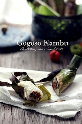 HESTI'S KITCHEN : yummy for your tummy...: Gogoso Kambu