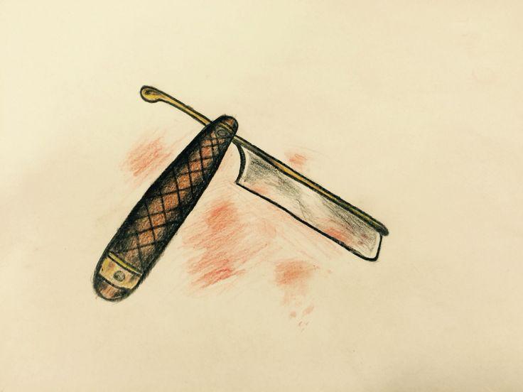 N.N#Shavingknife#oldschool#withcolour
