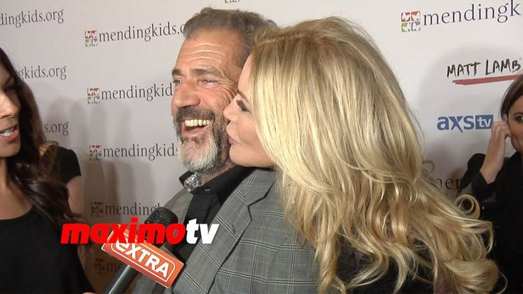 Shannon Tweed Flirts With Mel Gibson