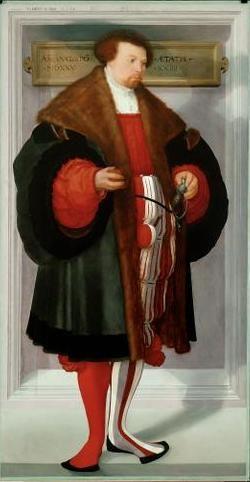 Portrait of a Man, 1525, Christoph Amberger, Augsburg, Bavaria, Germany