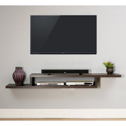 Attractive 18 Chic And Modern TV Wall Mount Ideas For Living Room