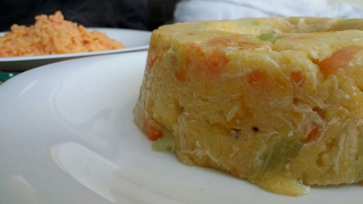 Cuscuz cremoso de legumes com frango