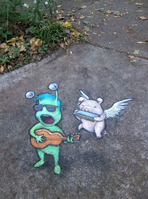 """Sluggo sings his latest hit, """"She Promised Me Sugar But Sure Stung Like Salt"""" with Porkchops McFly on harp."""