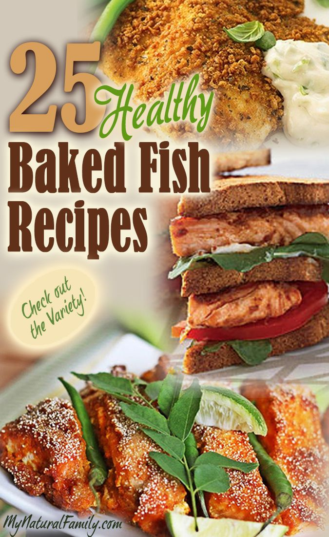 25 of the best healthy baked fish recipes i cook different for Healthy fish recipes