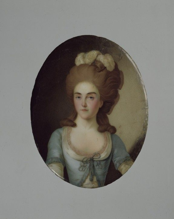 Miniature Portrait of Tatiana Roznatovskaia