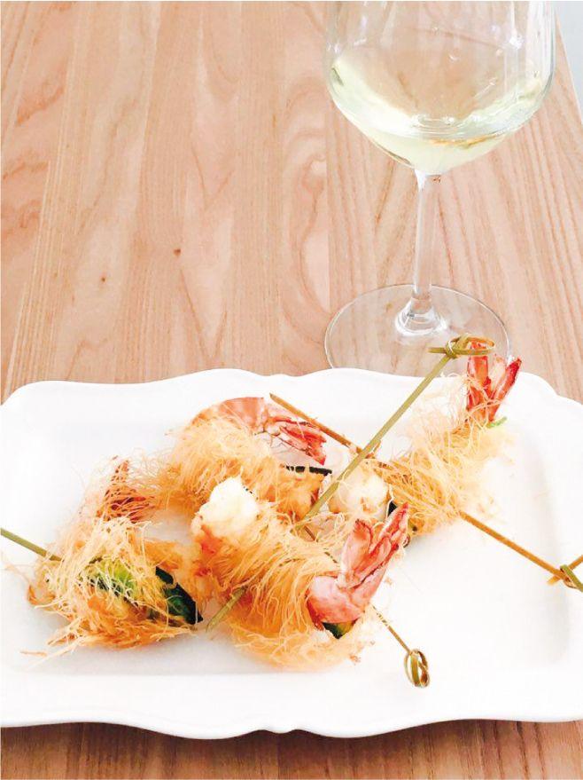 GAMBERONI IN PASTA KATAIFI Ricetta facile e sfiziosa, perfetta per l'ora dell'aperitivo, da accompagnare ad un'ottima bollicina, l'uso di spezie e peperoncino li rendono ancora più appetitosi, la croccantezza della pasta kataifi vi stupirà…..non vi resta che provare a farli.