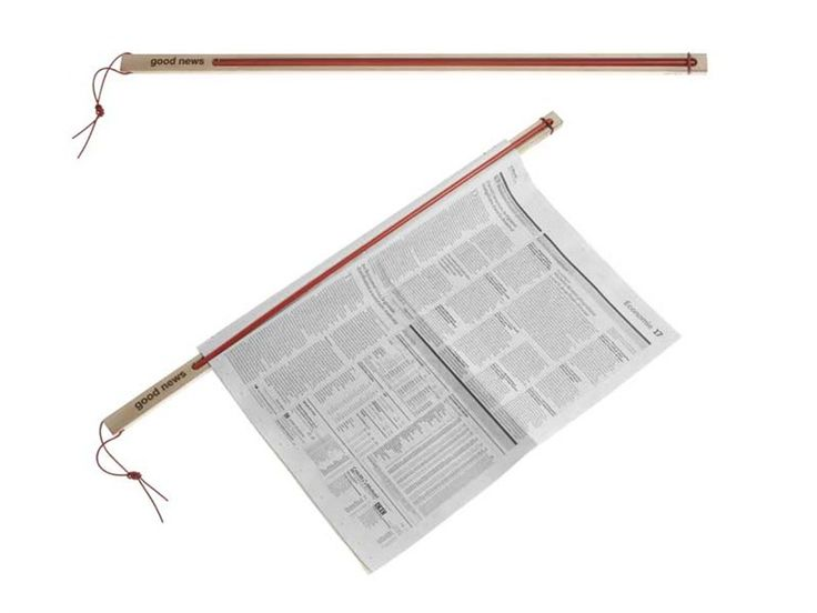 Newspaper rack GOOD NEWS by ENO STUDIO | design Arik Levy