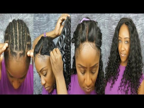 Best 25 full head weave ideas on pinterest full head sew in this is my 3 part lace closure full sew in tutorial i will show how i sew in my lace closure and hair extensions pmusecretfo Choice Image