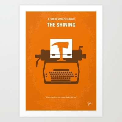 My The Shining minimal movie poster Art Print by Chungkong - $18.00