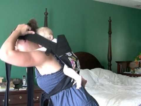 Best video to teach high back carries for infants in a mei tai.