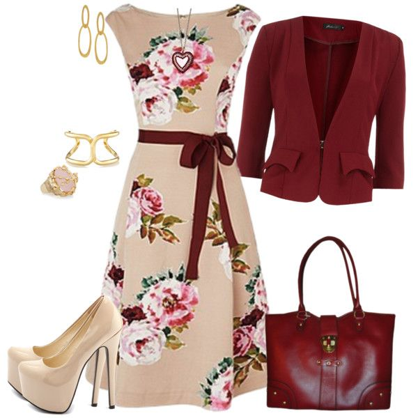 Floral Fun, created by msmith801 on Polyvore