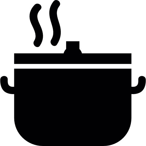 Cooked, Cook, Cooking, meal, steam, Preparation, food Icon