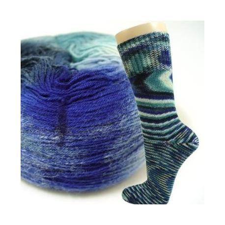 Basispatroon voor sokken voor verschillende garendiktes. Gratis patroon op dolopwol.com