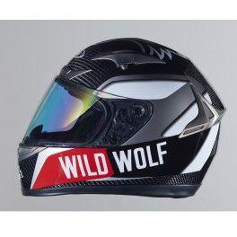 Casco de carbono replica Wild Wolf
