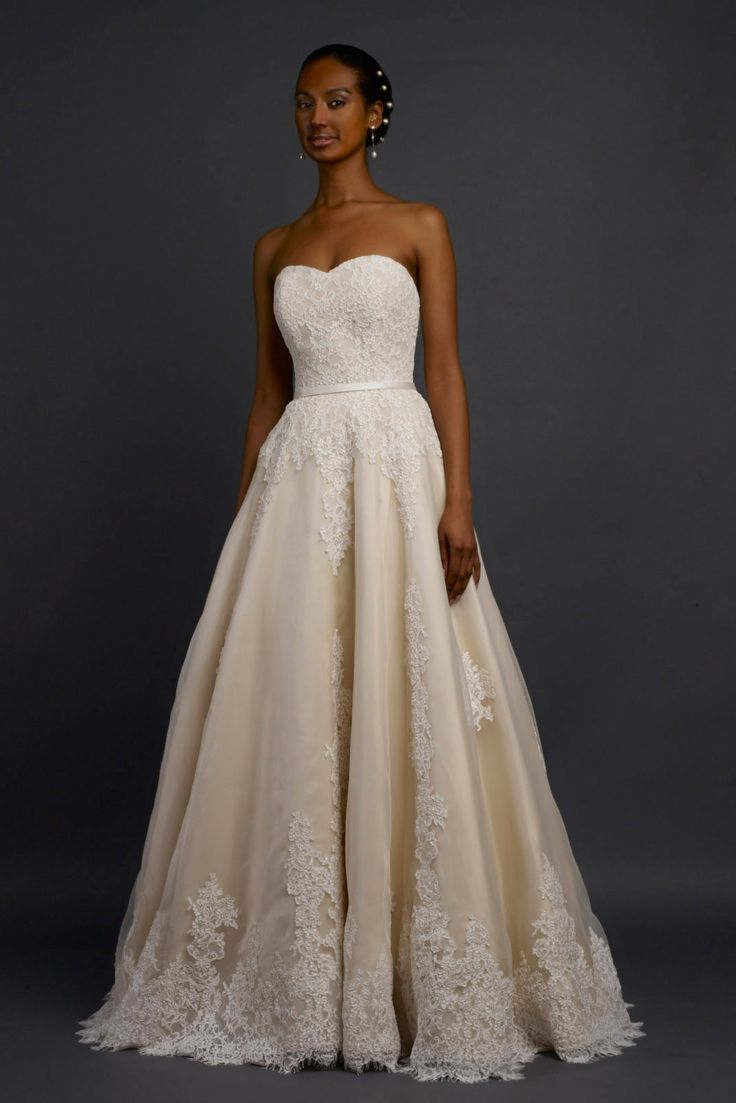"The most popular wedding gowns of 2014: Robert Bullock Bride, Style ""Tansy"""