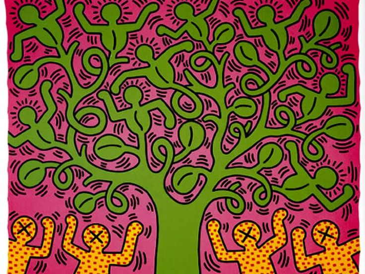 104 best Haring, Keith images on Pinterest Painting, Bad - badezimmer 1990