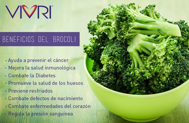 #VIVRI #salud #beneficios #brocoli #nutrición