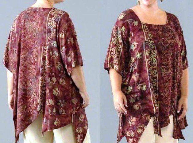 Model Baju Batik Wanita Gemuk Untuk Kerja Modis