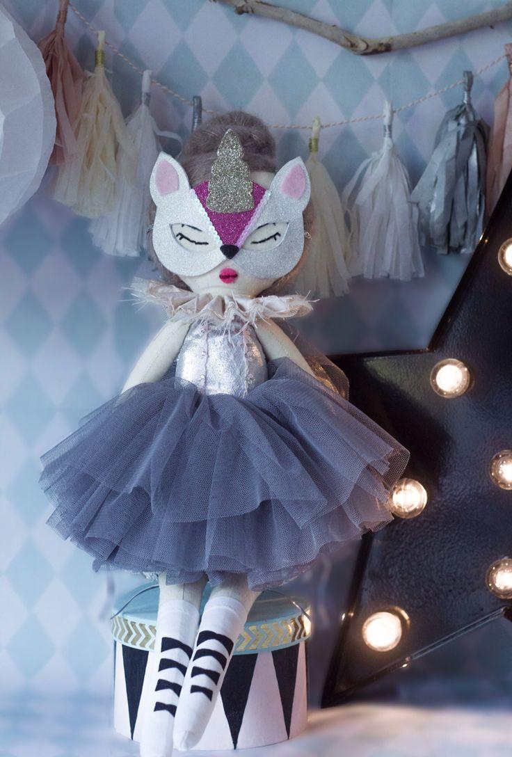 Francesca the ballerina unicorn rag doll