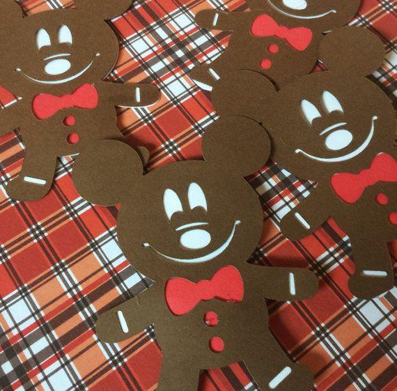 Disney World Christmas Garland Christmas Gingerbread Man