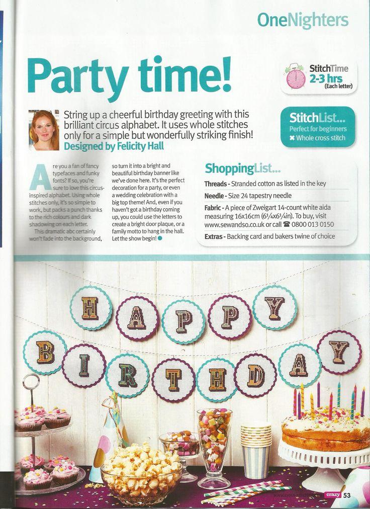 Birthday greetings - Felicity Hall