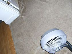Tips to Steam Clean Carpet.... I never thought about turning on the AC to help dry out the carpet.