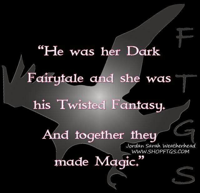 my mate and i. she is my dark fairytale, and i her twisted fantasy. she owns me and i give her that freely