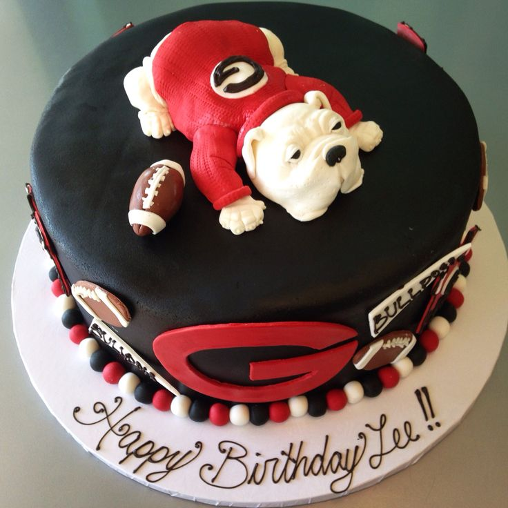Georgia bulldog cake                                                                                                                                                                                 More
