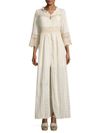 Anna Cotton Maxi Dress  por Tryb 212 en Gilt