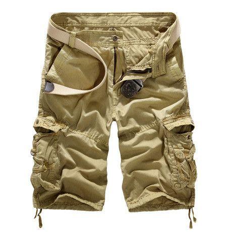 Men's Military Cargo Shorts