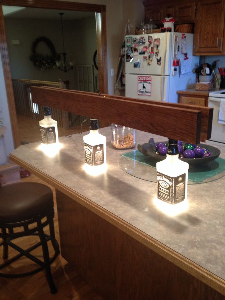 man cave lighting ideas. man cave lights for above a pool table easy to do three whiskey bottles lighting ideas c