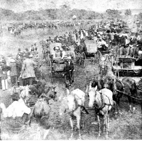 1889 Oklahoma Land Run, Cherokee Territory. Both sides of my Father's grandparents ran in this run for land. The Doss's & the Simmon's.  Robert Simmons was riding a small pony, which was really fast. But after the run, the pony just laid down and died. It gave it's all for the family.