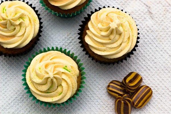Mint humbug cupcakes