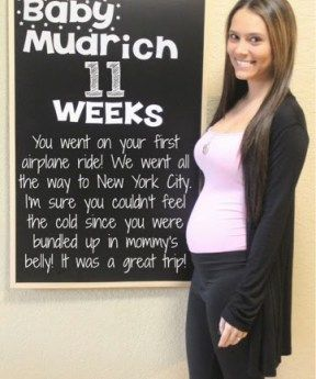 Below you will find separate links to all my Weekly Bump Chalkboard Posts. But, if you click here you can see them all together from Week 40-Week 4. We're Having A Baby! Week 40! Baby Girl was born 2 days later! And I also did a monthly update too!