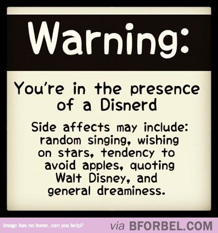 Signs You're Sitting Next To A Disney Nerd…