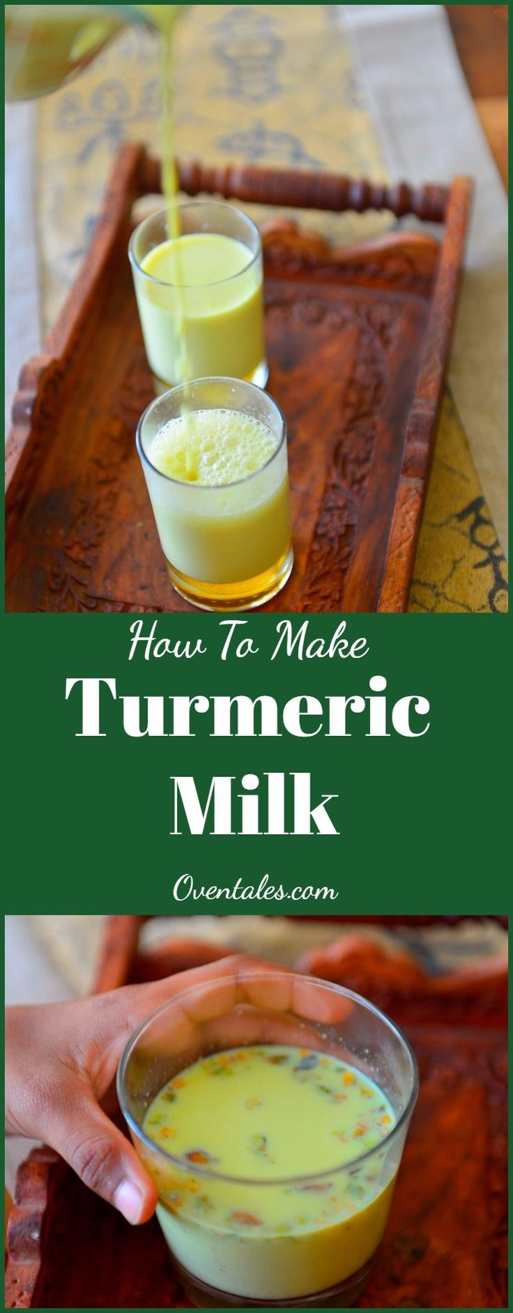 Turmeric Milk or  Haldi Ka Doodh or Turmeric latte is  this  magical  concoction  used  to  ward of  the  worst of  cold and flu season. A pinch of  turmeric and  pepper gives the  immunity boost that we need.  Here is a  version  with  few added spices  to increase its  potency while making it appealing  to even  the pickiest  eaters.