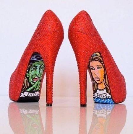 Wizard of Oz - LOVEShoes, Wizardofoz, Red, Ruby Slippers, Katy Perry, High Heels, Wizards Of Oz, Wizard Of Oz, Taylors