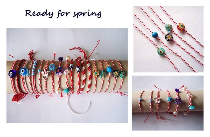 Βραχιόλια Μάρτης - March Bracelets