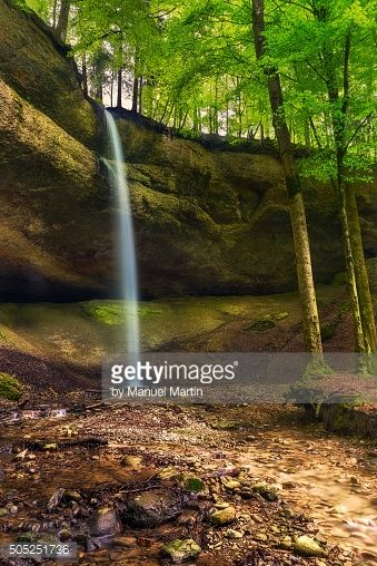 01-15 This image shows the waterfall of the province Zürich in... #fischenthal: 01-15 This image shows the waterfall of the… #fischenthal