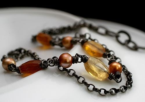 Autumn bracelet by Pako korut.
